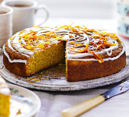 Gâteau de polenta à l'orange