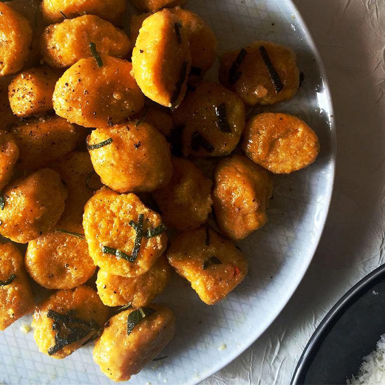 Gnocchi de potimarron sans gluten