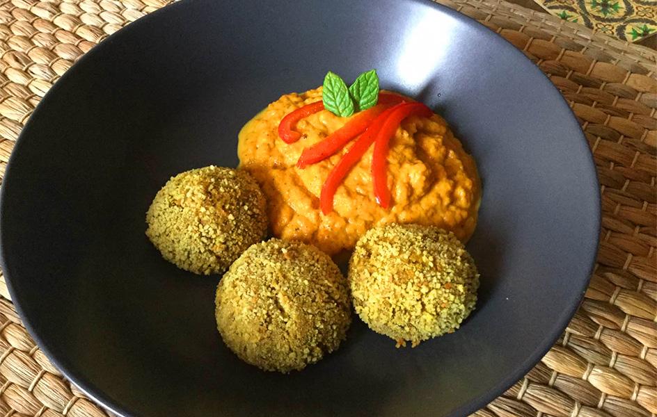 Falafels végétariennes (boulettes aux lentilles)