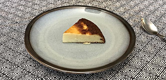 Gâteau léger au fromage blanc sans gluten